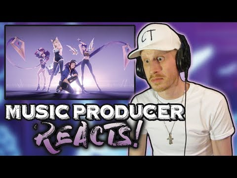 Producer Reacts to KDA - POPSTARS ft Madison Beer GI-DLE Jaira Burns
