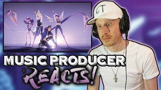 Music Producer Reacts to KDA - POPSTARS (ft Madison Beer, (G)I-DLE, Jaira Burns)