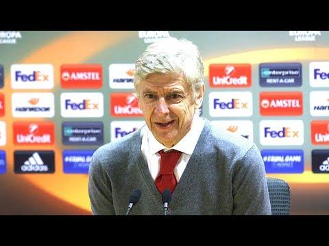 Arsenal 6-0 BATE Borisov - Arsene Wenger Full Post Match Press Conference - Europa League