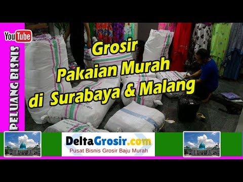 Grosir Pakaian Langsung Dari Pabrik Surabaya & Malang