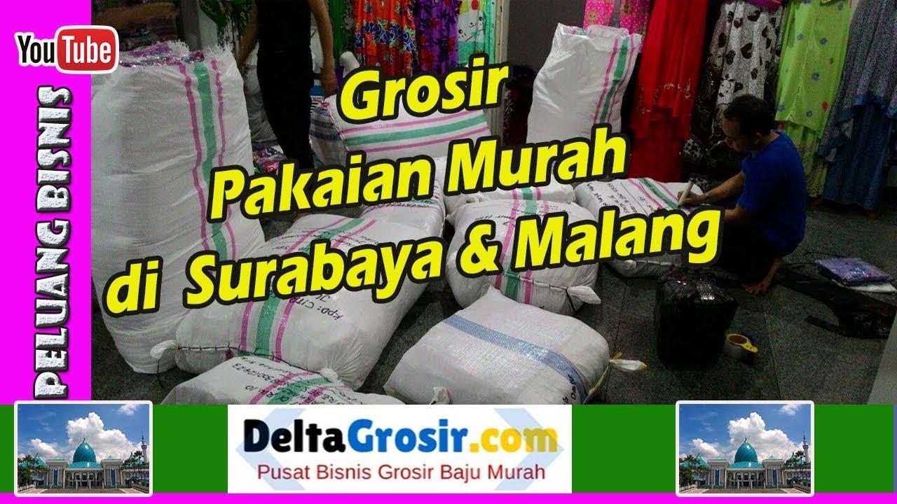 Grosir Pakaian Langsung Dari Pabrik Surabaya   Malang - YouTube 9447ac5926