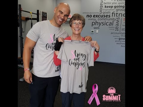 I'm a Survivor- Breast cancer survivor - The Summit Fitness Studio