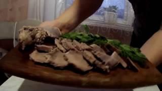 Свиной Язык!!!Простой Способ и Рецепт как Приготовить и Очистить Язык