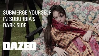 What does Mia Goth do when she's home alone?