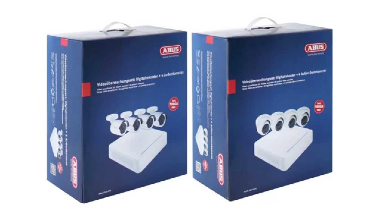 Zaawansowane Zestaw ABUS do wideomonitoringu (kamery do monitoringu, nagrywarka YP02