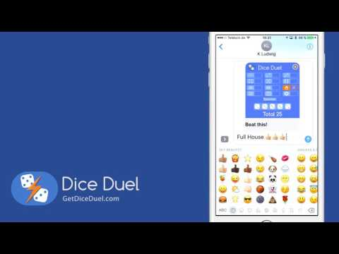 Now you can play Dice Duel in iMessage