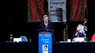 NCAI 2019 NATIONAL CONGRESS OF AMERICAN INDIANS - Dr  Steven Dillingham, Dir  US Census Bureau