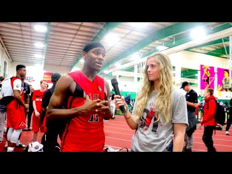 NIKE EYBL Session 1: Interview with RM5 sophomore G De'Vion Harmon