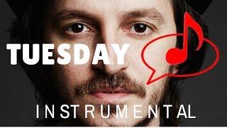 Tuesday / Burak Yeter ft. D. Sandoval  (Instrumental version tutorial)