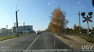 Витебск на авто 13.10.2018.