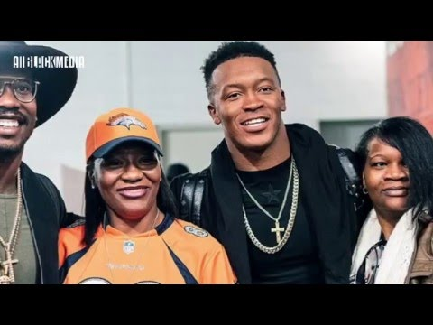 Broncos Demaryius Thomas being re-united with mother since prison release