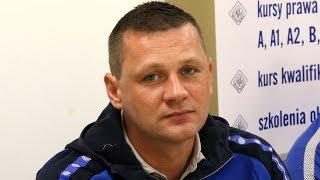 Trener Marcin Truszkowski o meczu z Mazurem Gostynin