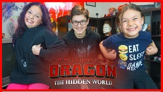 How to Train Your Dragon 3 Movie Review by Kids!