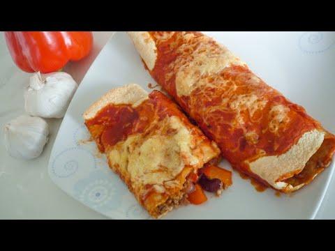 Enchiladas (gefüllte & überbackene Tortillas)