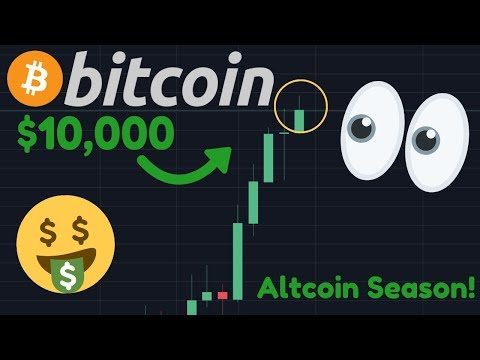 OMG!!! BITCOIN BREAKING ABOVE $10,000 RIGHT NOW!!! | Will It Hold Though? | Altcoins