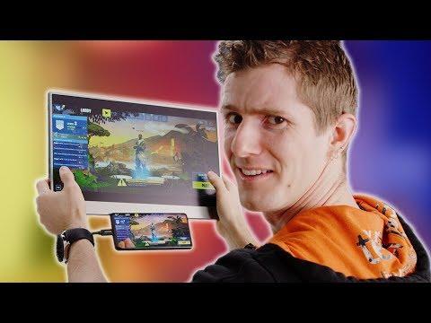 GIANT Phone Gaming! – Gemini Portable TOUCHSCREEN Monitor