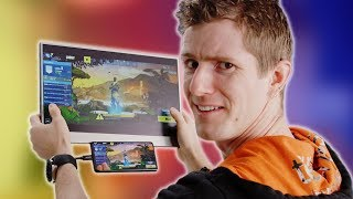GIANT Phone Gaming! - Gemini Portable TOUCHSCREEN Monitor