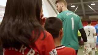 Chevrolet surprises Mascots at Manchester United Season Opener   ChevroletFC