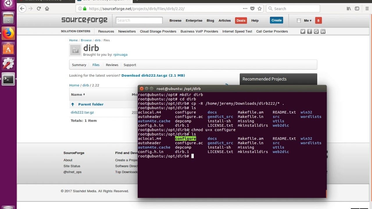 How to Install dirb on Linux