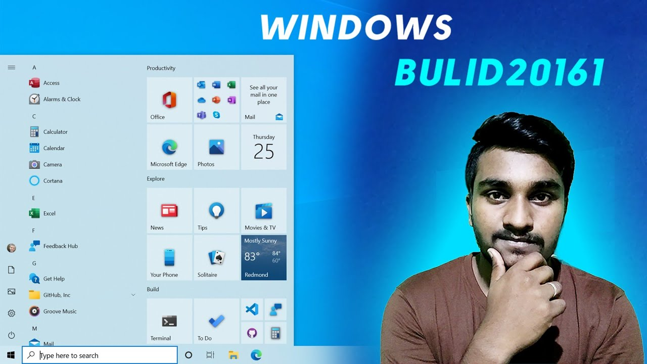 Windows 10 New Features Startmenu Changes, Edge Browser, Notification Experience +More!