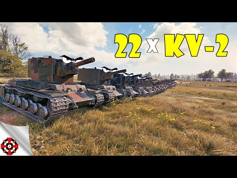 World Of Tanks - Funny Moments | Circle Of DERP! (WoT 22x KV-2 Versus)