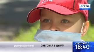 «Вести: Приморье»: Едкий дым накрыл дома жителей улицы Снеговой во Владивостоке