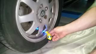 Сверхбюджетный суперчОткий цифровой мaнометр для измерения давления в шинах.