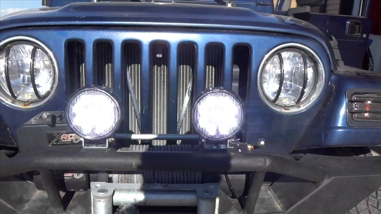 maxresdefault diy fog lamp installation youtube harbor freight off road lights wiring diagram at creativeand.co