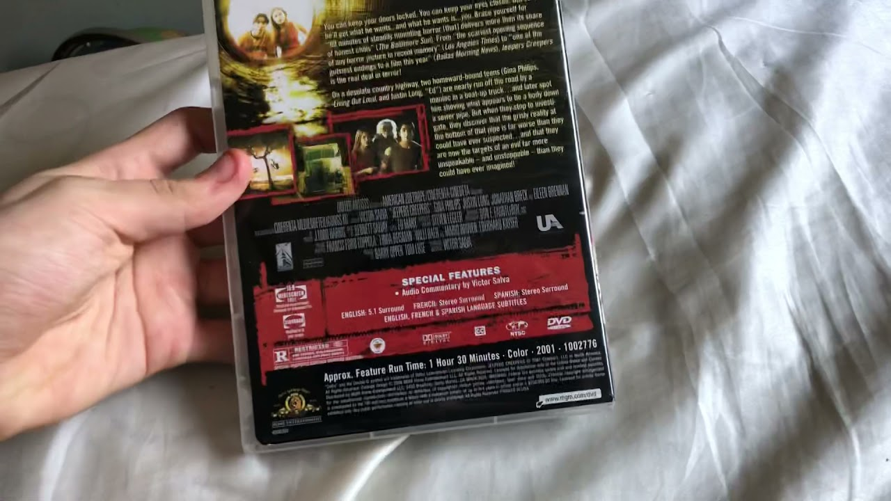 Download Opening and closing to Jeepers Creeprs 2002 2004 Reprint DVD