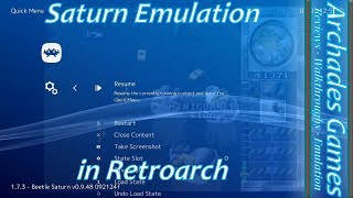 How to Setup Retroarch for Saturn Emulation