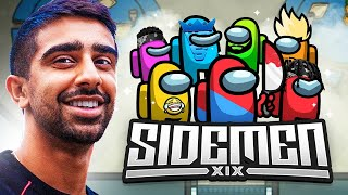 🔴 GENIUS LEVEL AMONG US w/ SIDEMEN & FRIENDS