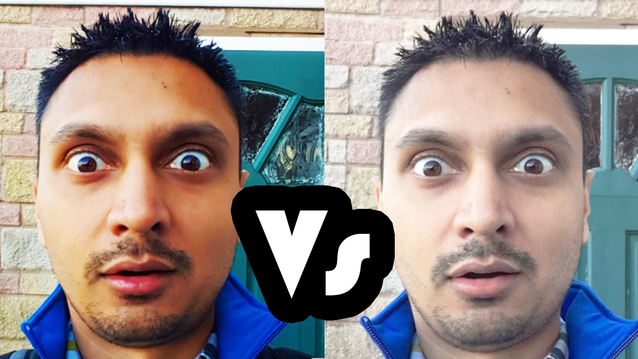 iphone 6s vs samsung galaxy s6 selfie camera comparison youtube. Black Bedroom Furniture Sets. Home Design Ideas