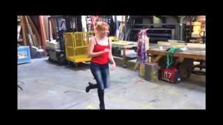 Mythbusters Kari Byron & Tory Belleci sing like munchkins?