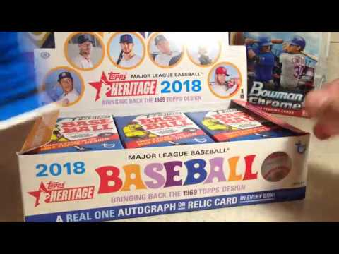 2018 Topps Baseball Cards Opening Series 1 The Search For Ohtani Heritage Hobby Box