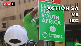 The leadership of ActionSA, along with its legal team, held a media briefing on 6 October 2021 after it filed a relief application asking the court to reverse the IEC's decision not to place the party's name on ballot papers for the upcoming local government elections.  #ActionSA #HermanMashaba #IndependentElectoralCommission