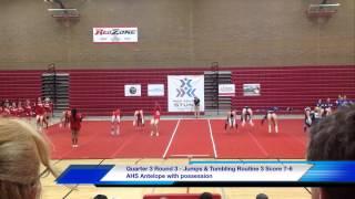 04-11-15 California HS STUNT Game Commentary Antelope HS vs Rocklin HS