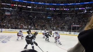 Martinez OT Goal for the Win !!! Game 5, 2014 Stanley Cup