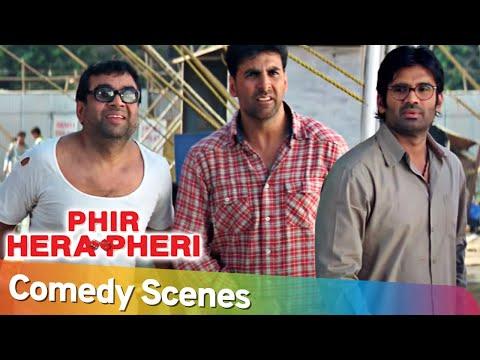 Download Phir Hera Pheri | Best of Comedy Scenes | Akshay Kumar - Paresh Rawal   Rajpal Yadav - Johny Lever