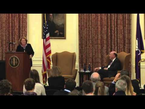 2015 Attorney General Robert Abrams Public Service Lecture: Sen. Heidi Heitkamp
