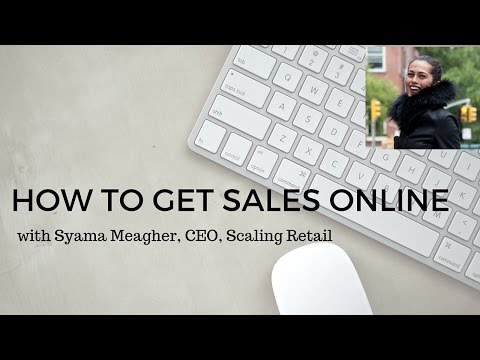 How To Get Sales Online- Fashion Ecommerce