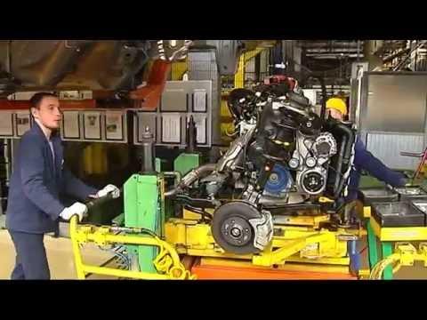 Как производят Ладу - цеха и главный конвейер завода