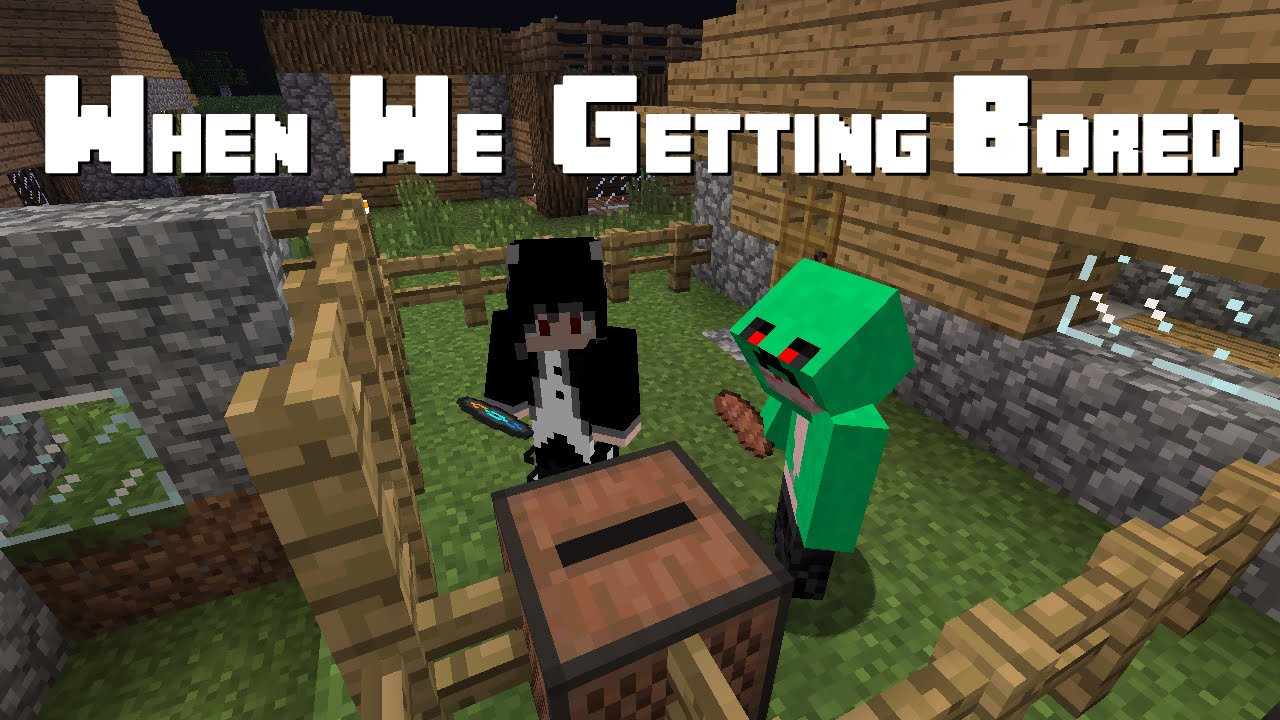 How Do I Not Get Bored of My Minecraft Worlds? - YouTube