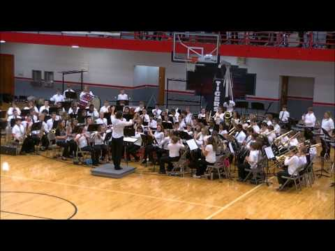 2012 Warrensburg Middle School Winter Conert - 6th Grade Band