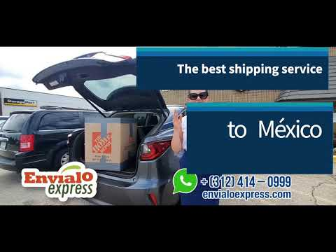 The Best shipping services to Mexico 🇲🇽 mexmovers.com envialo Express