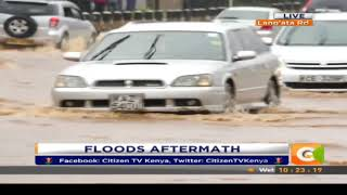 Citizen Extra:Flooding, heavy traffic in Nairobi and parts of the Countryas rains pound