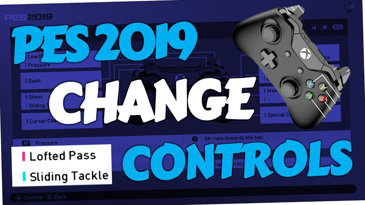 PES 2019 - How to change Controls (PC, PS4 & Xbox One | Pro Evolution  Soccer 19)