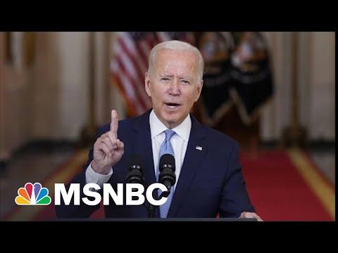 Biden Gives Vigorous Defense Of Afghanistan Withdrawal