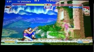 Super Street Fighter 2 X (DC Import) Arcade, Balrog (Vega)