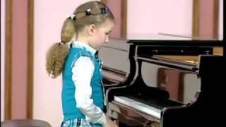 Varvara Kutuzova 7yo Прокофьев 1 класс ЦМШ