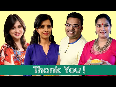Bloopers | Celebrating Five Hundred Thousand Subscribers On Rajshri Food | Thank You Subscribers